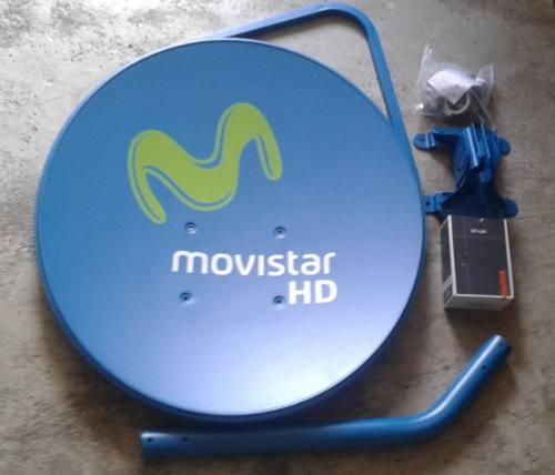 Comprar Antena Tv Satelital Plato Más Lente Hd En Venta