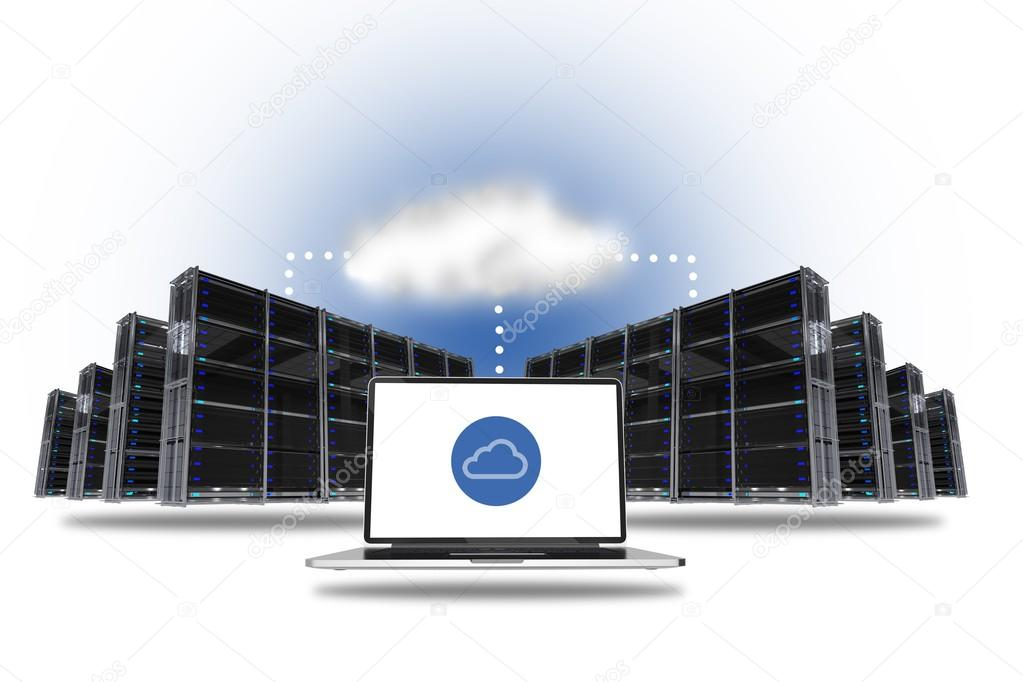 hosting o alojamiento cloud nube servidores cloud